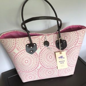 Woven Tote, NWT